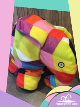 Elmer the Charnwood Elephant